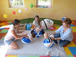 Babyturnen und Babymassage – Neue Kurse ab 04.06.2014