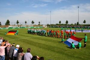 Rückblick U15-Länderspiel Deutschland – Niederlande