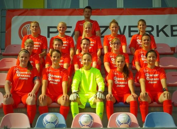 Frauenmannschaft – Kader 2015