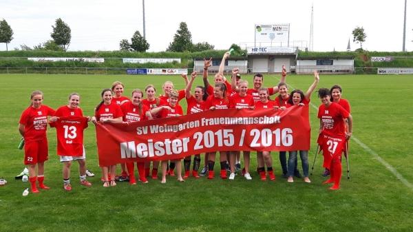 Frauenfußball beim SV Weingarten – Von Null zur Meisterschaft