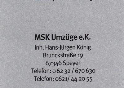 MSK Umzüge